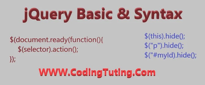 jQuery Basic Syntax