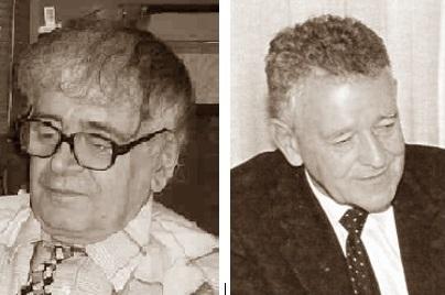 Los compositores de problemas de ajedrez Petko A. Petkov y Efrén  Petite
