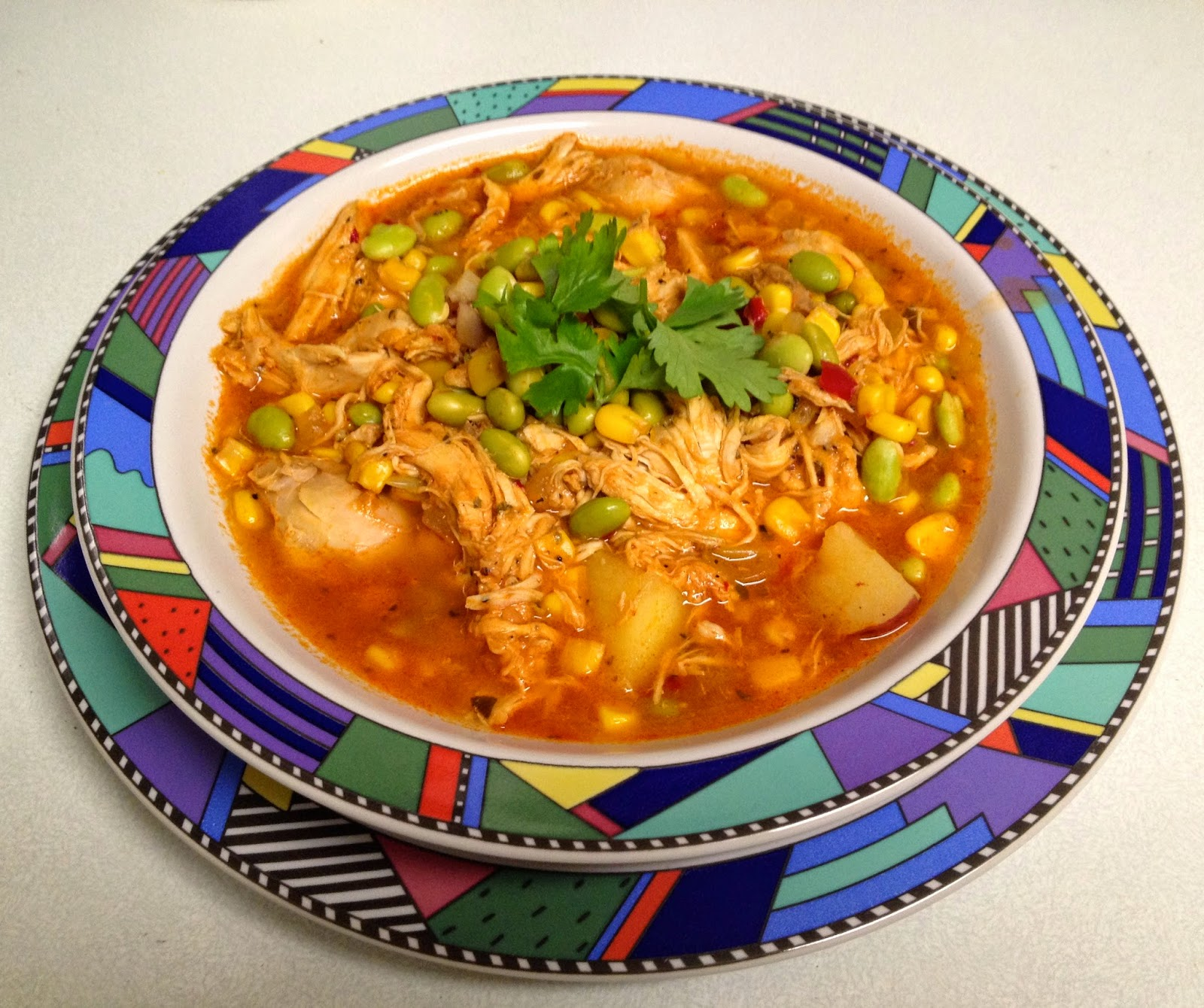 New Brunswick Stew With Rotisserie Chicken