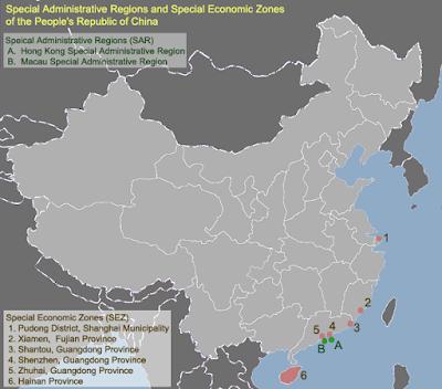 Zonas económicas especiales de China