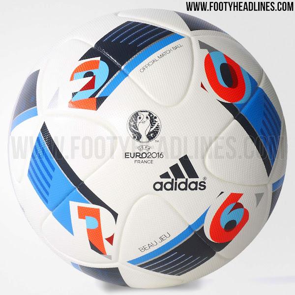 Появились фотографии официального мяча Евро-2016