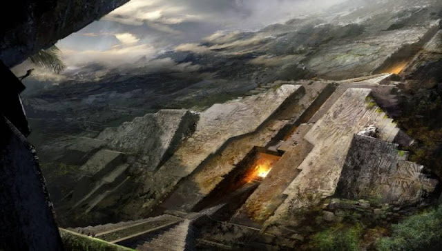 The mysterious structures of Gods in the world