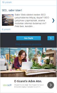 Blogger mobil tema