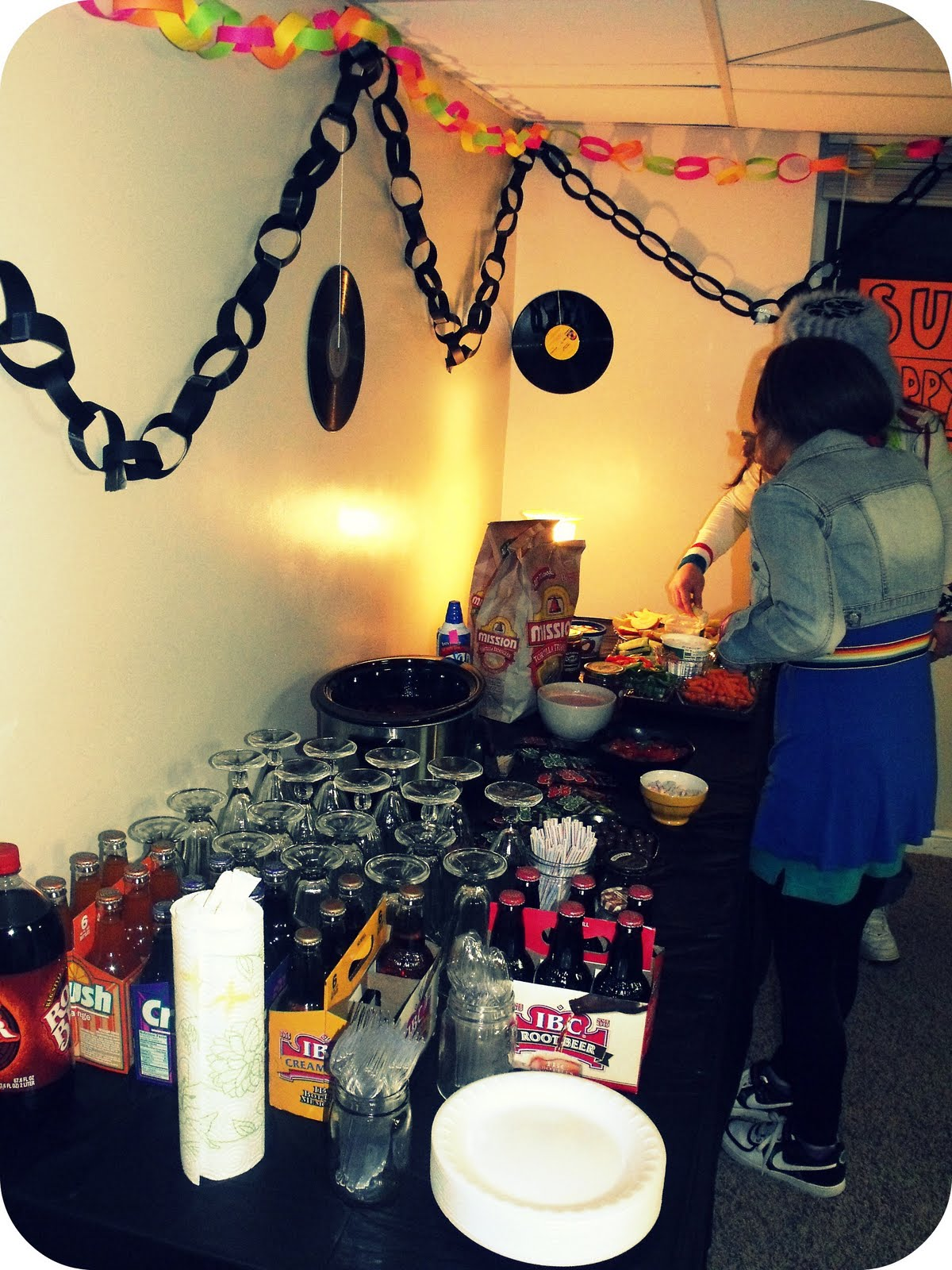 Agree, 80s style surprise party for adults right! excellent