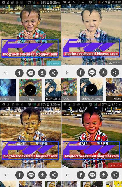 unduh aplikasi kamera Prisma android terbaru banyak efek keren