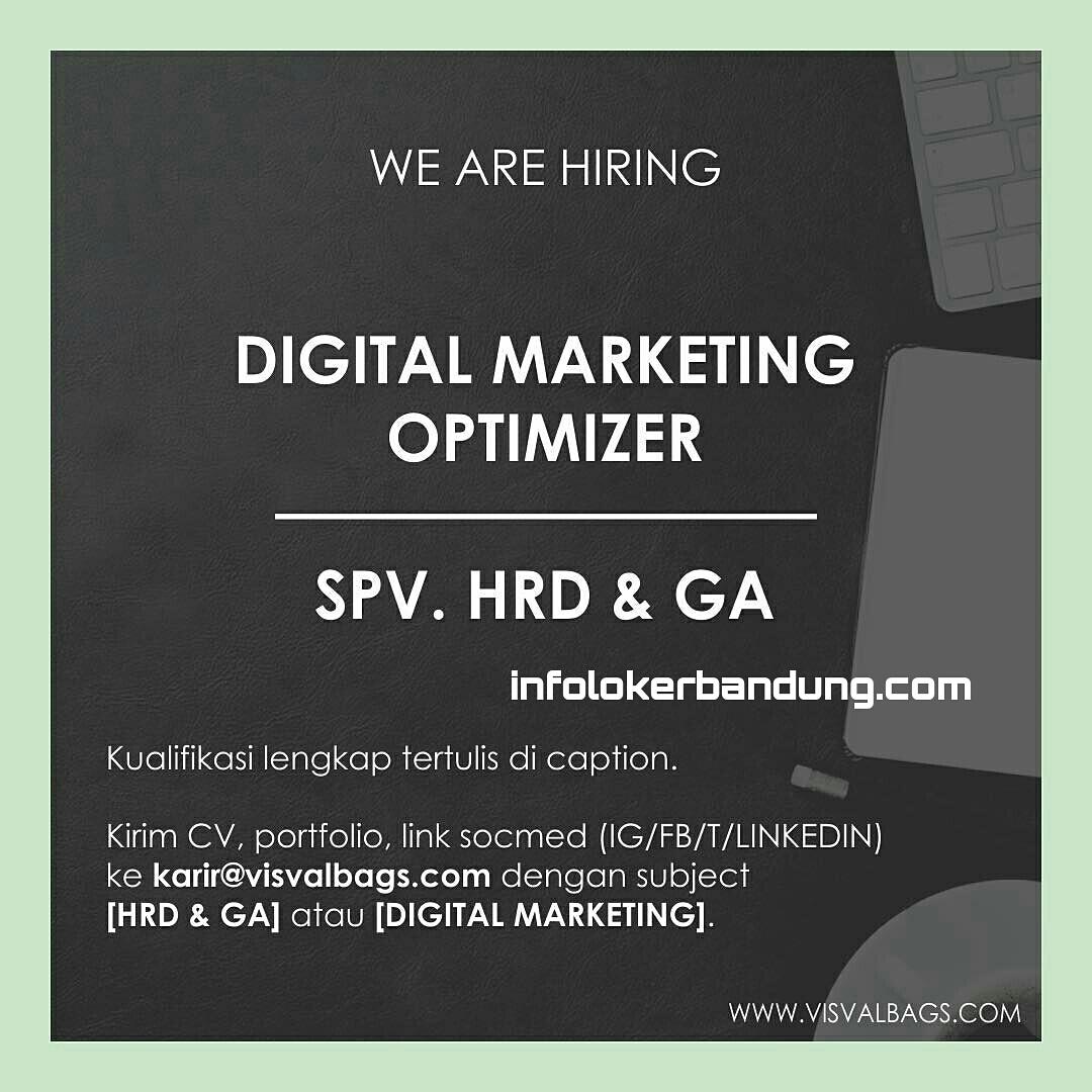 Lowongan Kerja Digital Marketing Optimation