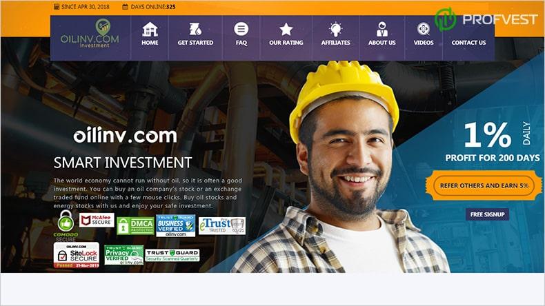Oilinv обзор и отзывы HYIP-проекта