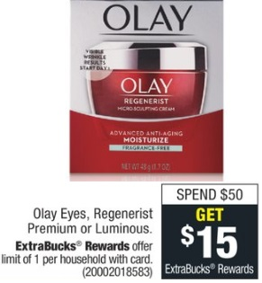 CVS Olay Facial Cleanser Deal - Only $1.39 - 5/12-5/18