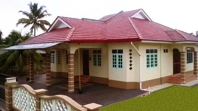 45 desain rumah minimalis sederhana di kampung desa