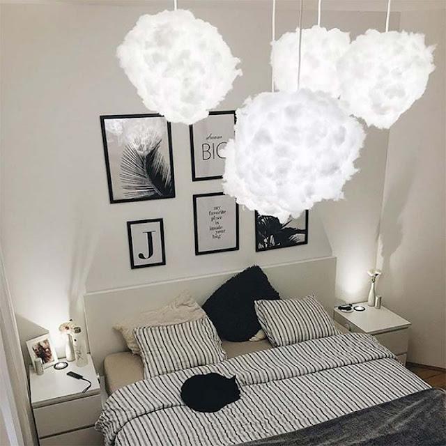 Cómo hacer una lámpara nube diy para decorar tu hogar