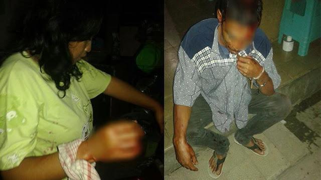 Pergoki Istri Tidur Tanpa Sehelai Benang Bersama Selingkuhan, Suami Nekat Tikam Kepala Selingkuhan Di Denpasar.