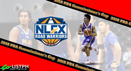 List of NLEX Road Warriors Roster 2018 PBA Commissioner's Cup