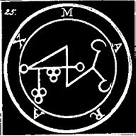 Marax, Sigilo, Goetia, Ocultismo