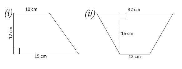 Mathematics For Junior: LAYANG-LAYANG (KITES) DAN TRAPEZOID