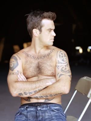 Robbie Williams Tattoo