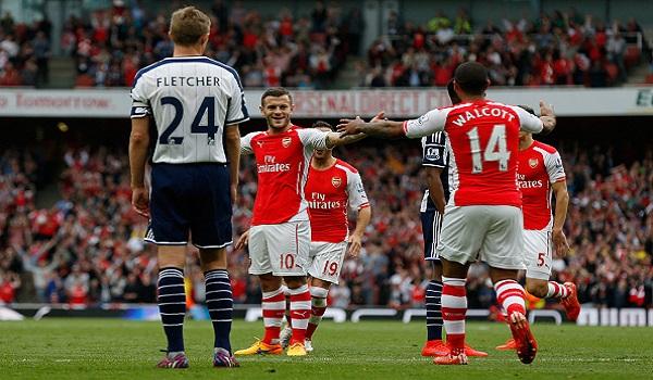 Prediksi Arsenal vs West Bromwich Liga Inggris