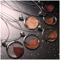Shop Autumn Leaf Pendant