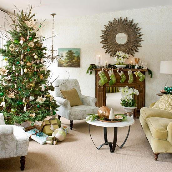 Decorar chimeneas para navidad colores en casa - Chimeneas para decorar ...