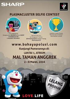 Lomba Foto Selfie Plasmacluster Berhadiah Produk Plasmacluster dan Merchandise