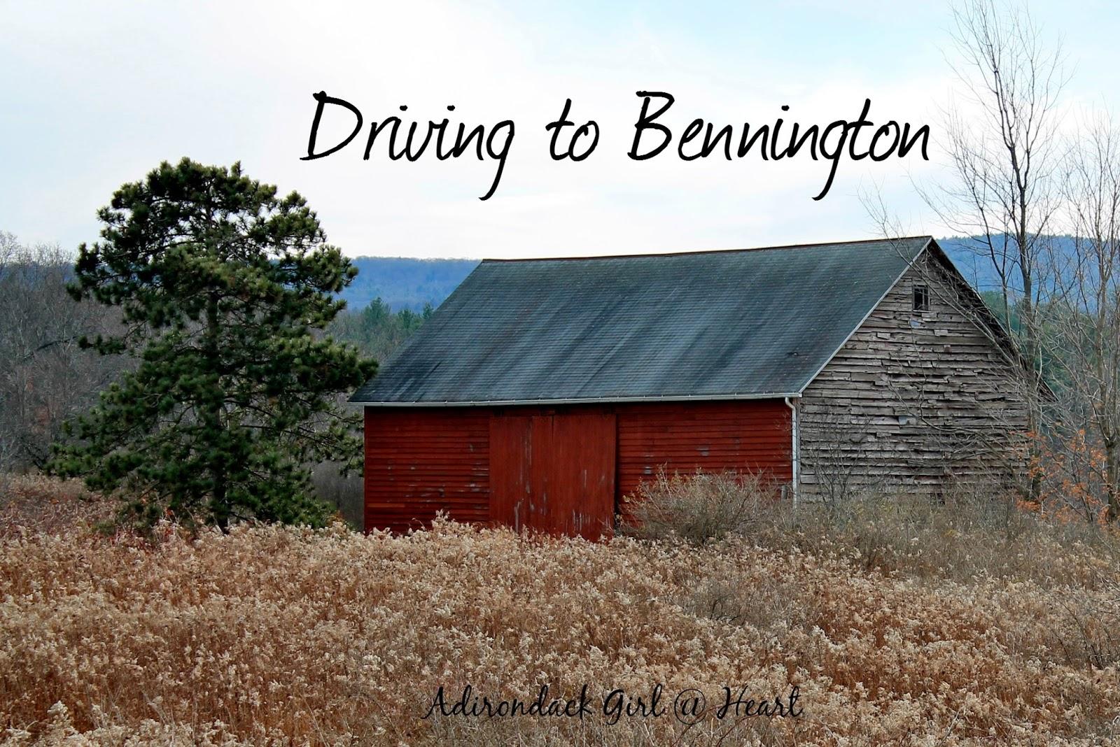 Driving to Bennington (VT)