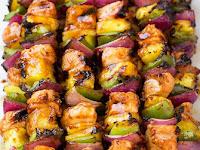 Hawaiian Chicken Kebabs
