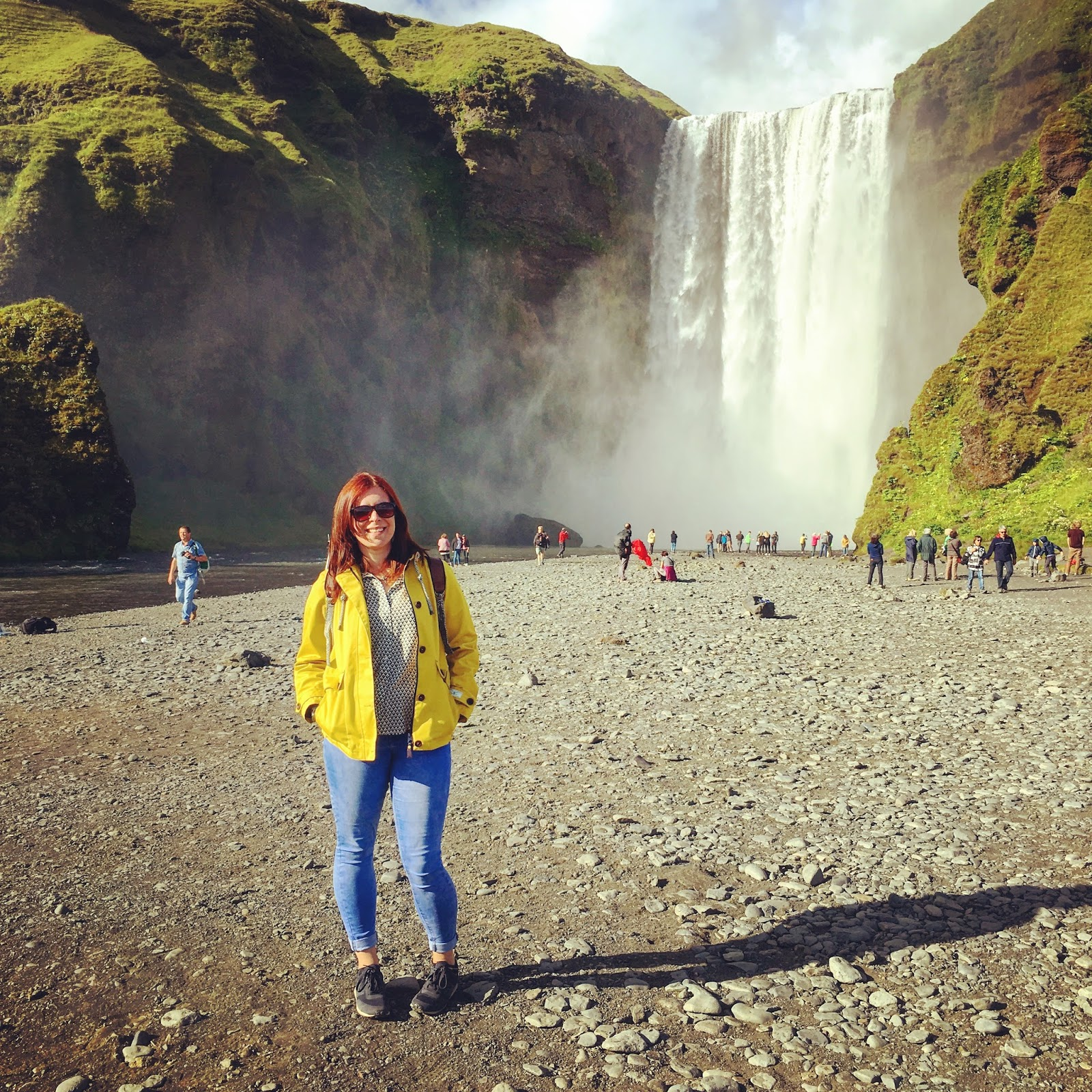 Skogafoss waterfall, south coast, Iceland