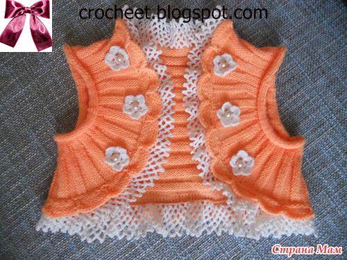 e6ed153049cad beside crochet  جيليه تريكو للبنات