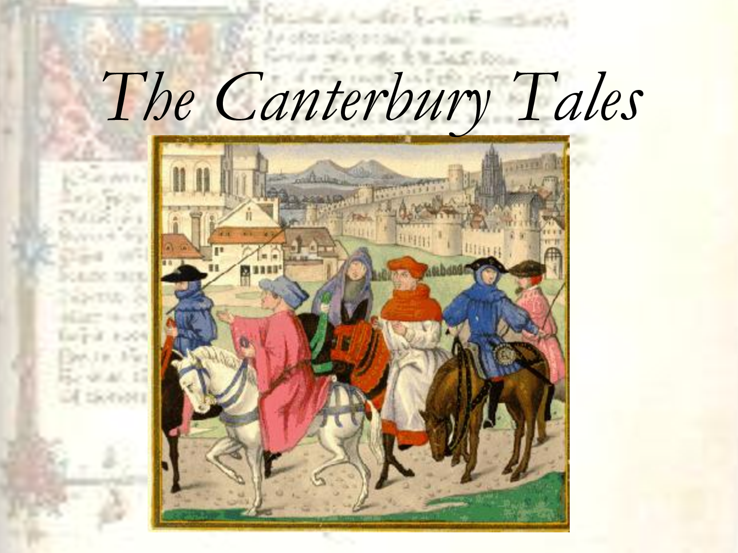 an analysis of the canterbury tales by chaucer An interesting aspect of the famous literary work, the canterbury tales, is the contrast of realistic and exaggerated qualities that chaucer entitles to.