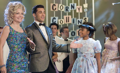 Michelle Pfeiffer James Marsden Hairspray 2007 movie John Waters Corny Collins Show