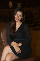 Kyra Dutta in black At Rogue Movie Audio Launch ~  033.JPG