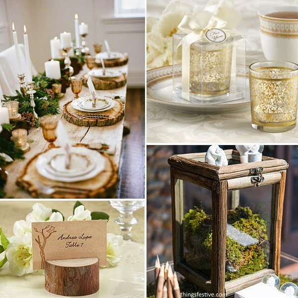 Wedding Theme Inspiration: Winter Woodland