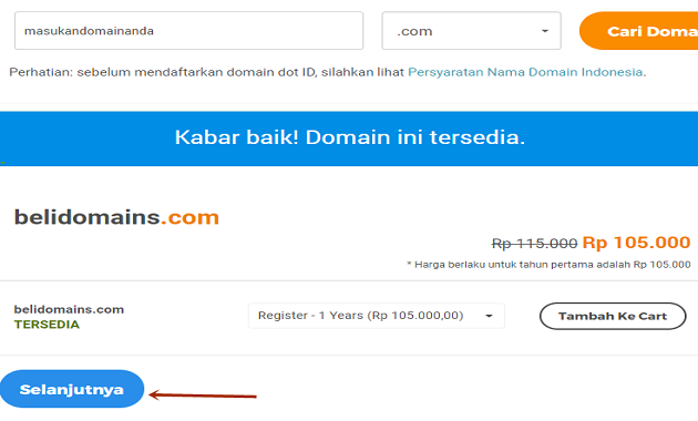 Cara Mengganti Domain Blogspot ke Custom Domain