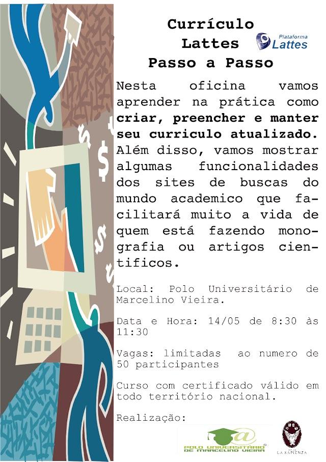 OPORTUNIDADE: Polo Universitário de Marcelino Vieira oferece mini-curso neste sábado