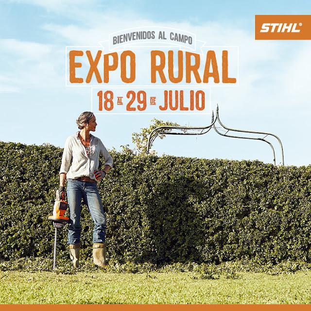 #StihlEnLaRural Stihl estará con todas sus líneas de productos en la Exposición Rural 2018