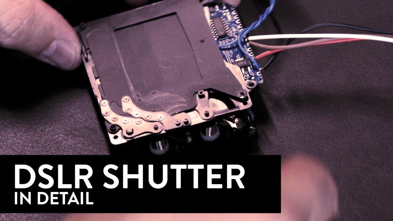 DSLR Shutter In Detail
