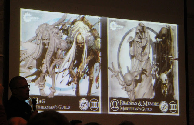 SteamCon 2016 - Keynote - Guild Ball new players Hag, Brainpan, Memory