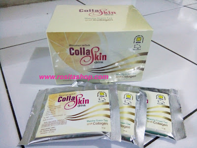 collaskin drink matcha tea khasiat