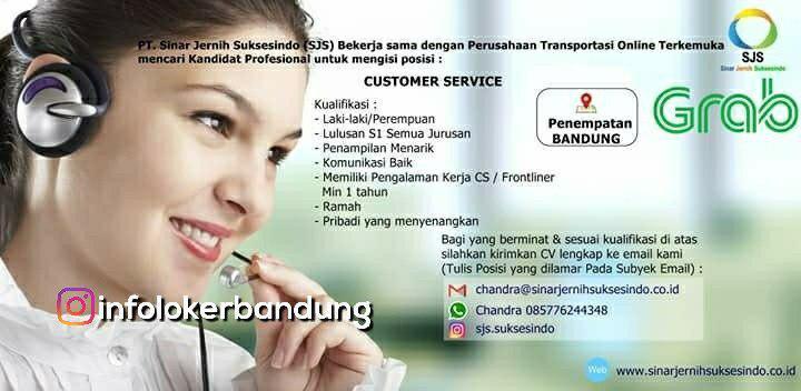 Lowongan Kerja Customer Service Grab September 2018