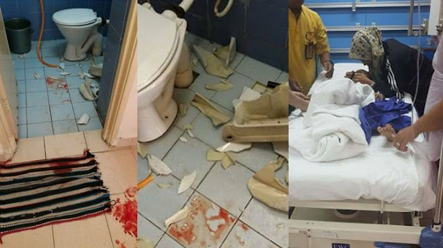 Ibu Ini Shock Setelah Tahu Perut Anaknya Terurai Di Kamar Mandi & Penuh Dengan Darah