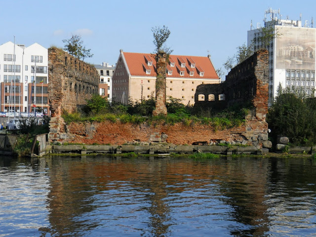 Things to do in Tricity Poland: Explore the ruins from World War II along the Motława River