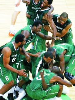 d tiger nigerian basket ball teams london olympics