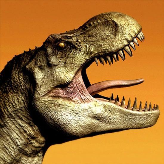 Tiranossauro Rex não podia colocar a língua para fora - Img1