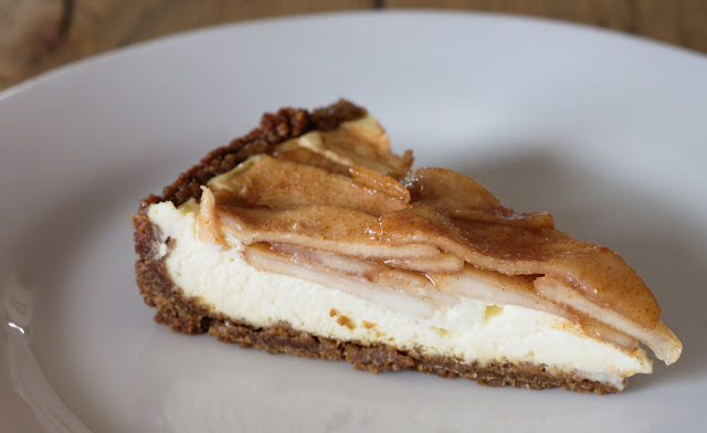 gingersnap pear tart