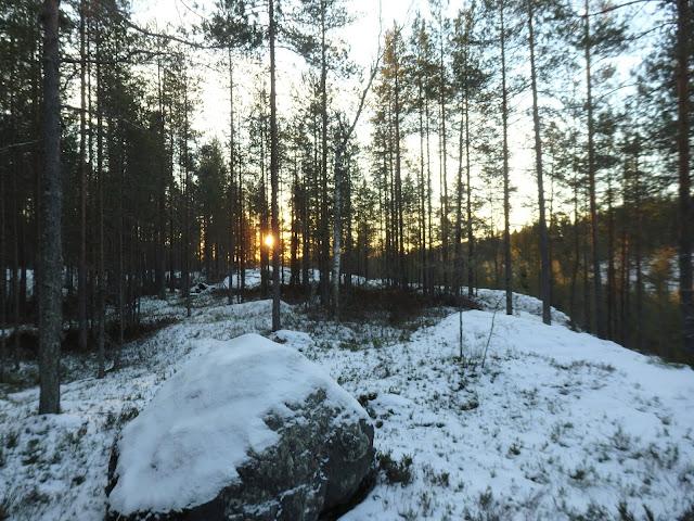 Joulukuisen aamupäivän valo
