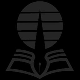 logo ut hitam putih