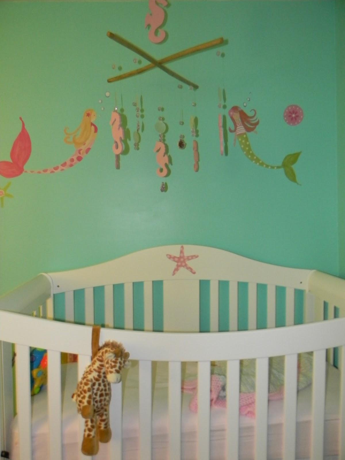 Pink Love Kick The Mermaid Nursery