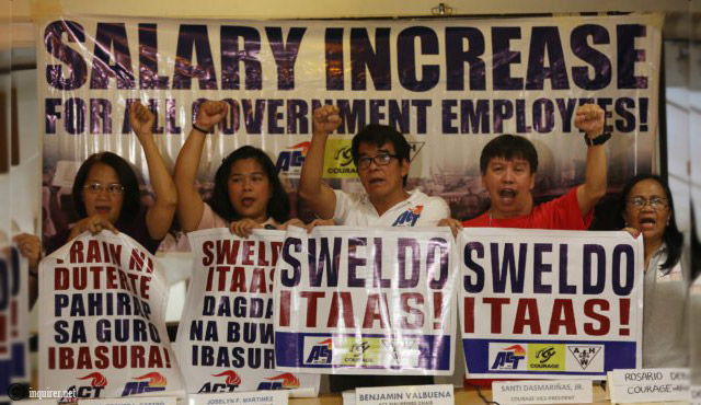 Salary Increase Seek for Government Nurses and Employees