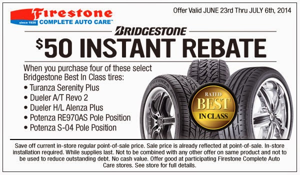 Bridgestone is a popular tires & wheels retailer which operates the website glucecelpa1988.gq of today, we have 4 active Bridgestone third-party deals. The Dealspotr community last updated this page on December 6, On average, we launch 4 new Bridgestone promo codes or coupons each month, with an average discount of 26% off and an average time to expiration of 38 days/5(3).