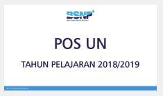 POS UN Tahun Pelajaran 2018/2019-http://www.librarypendidikan.com