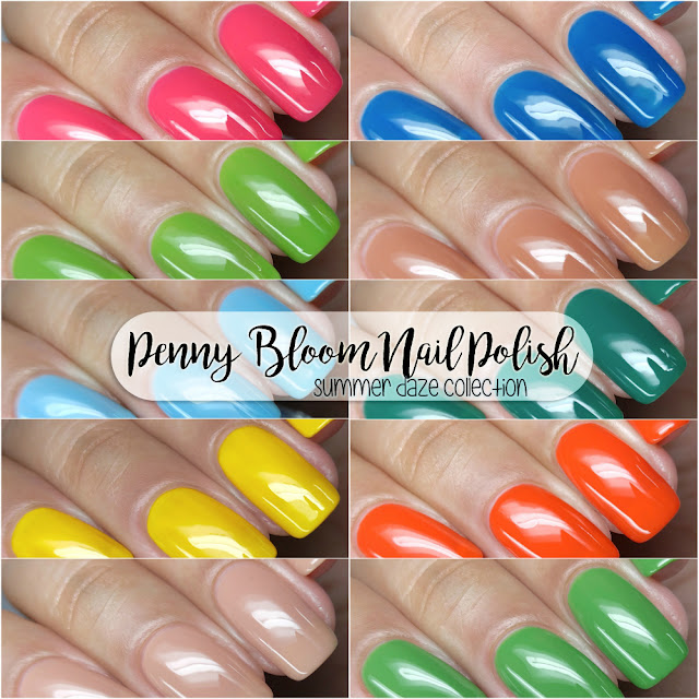 Penny Bloom Nail Polish - Summer Daze Collection